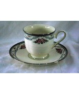 Lenox 2000 Country Romance Coffee Cup And Saucer - $10.79