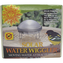 Allied Precision Silver Solar Water Wiggler For Bird Bath 3x6.75 Inch - $63.26