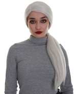 Women's Grey Color Straight Long Length Ponytail Trendy Mythical Goddess... - $18.85