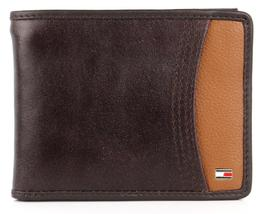 Tommy Hilfiger Men's Premium Leather Credit Card ID Wallet Passcase 31TL220014 image 8