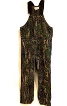 Gander Mountain Insulated Rebark Camo Hunting Outdoor Bib Overalls L Tal... - $54.44