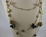 Triple strand butterfly fashion necklace 1 thumb155 crop