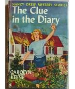 Nancy Drew mystery #7 THE CLUE IN THE DIARY Carolyn Keene 1950B-44 NEAR ... - $165.00