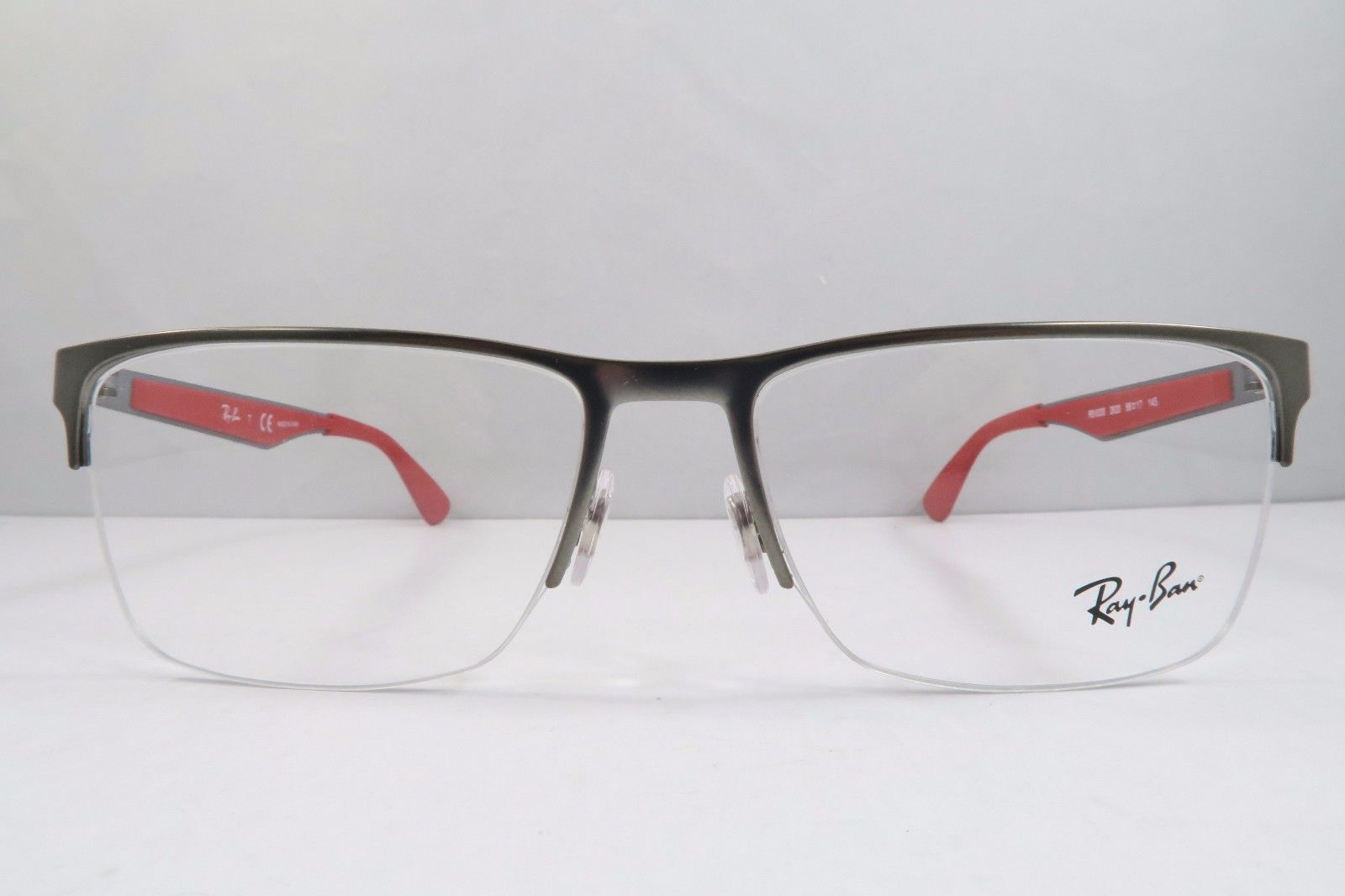 cfca164134 Ray-Ban RB 6335 2620 Gunmetal   Red and 50 similar items