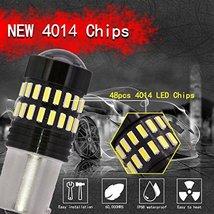 TUINCYN 1156 LED Bulbs White Brake Light BA15S 1141 1095 7506 1156A P21W 4014-48 image 5