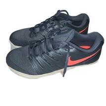 NEW Nike Women Air Zoom Prestige HC Tennis Shoe blue/mango AA8024 401 Si... - $56.43