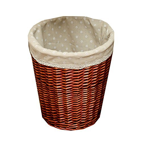 Primary image for Kylin Express Storage Bucket,Wooden Laundry Clothes/Toys Basket Storage Basket F