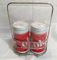 COCA-COLA SALT & PEPPER SHAKERS - $8.00