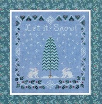 Snow Berry Sampler cross stitch chart Elizabeth's Designs  - $8.10