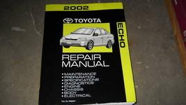 2002 TOYOTA ECHO Service Repair Workshop Shop Manual OEM Factory - $44.50