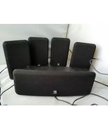 Boston Acoustics MCS160 Surround Sound System Lautsprecher Set 5 Schwarz - $181.32