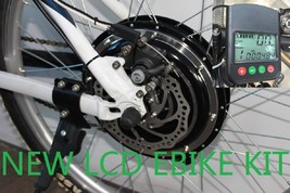 48V 1000W R ELECTRIC Bicycle Kits Conversion Motor Scooters DISC LCD PAS... - $296.39