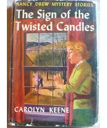 Nancy Drew mystery #9 THE SIGN OF THE TWISTED CANDLES Carolyn Keene 1950... - $99.00