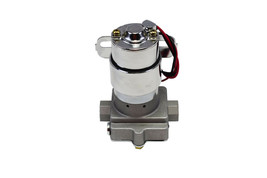 A-Team Performance 30-155 Electric Inline Fuel Pump 12V 155 GPH at 14PSI Chrome image 2