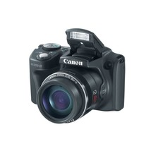 Canon PowerShot SX500 IS 16MP 30x Optical Zoom 3 LCD Built-In Flash Came... - $252.27