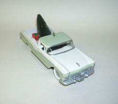 2002 Hallmark Ornament 1957 Ford Ranchero with Christmas Tree and Gift - $16.82