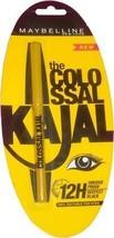 Maybelline the Colossal Kajal 0.35 G (Black) Pack of 2 - $34.65