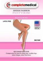 Scott Specialties (v) Ladies' Sheer Firm Spt Queen+ 20-30mmhg Panty Hose... - $65.99