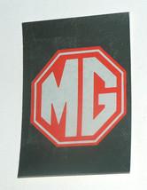 1976 topps cars 1977 rare mg desconchará sticker card vg - $7.93