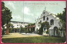 RIVERSIDE CALIFORNIA Glenwood Mission Inn 1909 CA BJs - $6.00
