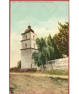 SANTA BARBARA MISSION CA Tower California BJs - $7.50
