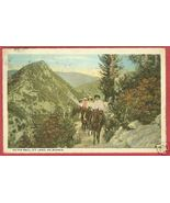 MT LOWE CA Trail Horses Riders California 1924 BJs - $6.00