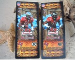 Tampa bay buccaneers stadium club ticket stubs 2008 derrick brooks jackson thumb155 crop