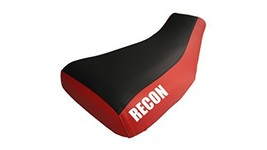 Honda Recon TRX250 Seat Cover Black And Red Color Recon Logo Year 2005 T... - $42.99