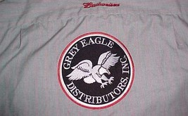 Budweiser Grey Eagle Distributors Associates Employees Truck Driver Gray... - $29.69
