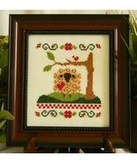 Country Life Sheep cross stitch chart Cherry Hill Stitchery - $5.40