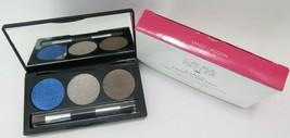 Laura Geller Baked Creme Glaze Trio Eyeshadow Palette w/brush*choose your shade* - $14.35