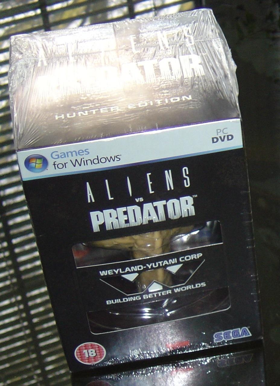 ALIENS VS PREDATOR HUNTER EDITION PREORDER FOR PC
