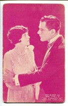LADY WINDEMER FAN-MAY MCAVOY/BERT LYTELL-Arcade Card G - $17.38