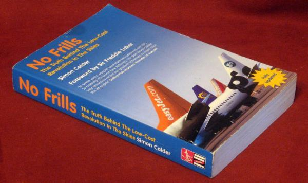 Airplane Simon Calder No Frills Low Cost Airline Easy Jet Ryanair FREE SHIP