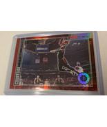 2019-20 NBA Hoops Premium Stock Paul George RED Courtside Insert Super rare - $46.74