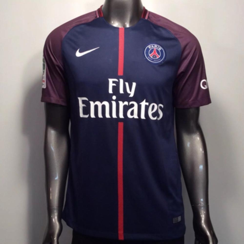 2017-18 Paris Saint-Germain FC Nike Neymar Jr  10 2XL Home Soccer 12e887c36