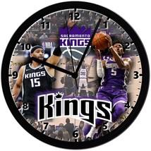 "Sacramento Kings Homemade 8"" NBA Wall Clock w/ Battery Included - $23.97"