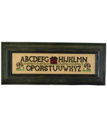 Willow House Alphabet cross stitch chart Cherry Hill Stitchery - $7.20