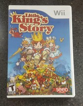Little King's Story (Nintendo Wii, 2009) Complete w/ Game Disc, Manual &... - $18.00