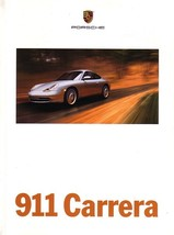 1999 Porsche 911 CARRERA sales brochure catalog US 99 4 996 - $12.00