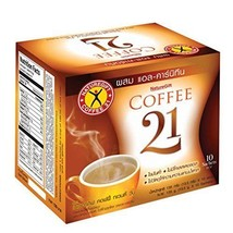 Naturegift Instant Coffee Mix 21 Plus L-carnitine Slimming Weight Loss Diet - $8.60