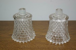 Home Interiors Clear Diamond Votive Cups Homco -m - $11.00