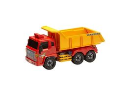 Daesung Toys Super Dump Truck and Concrete Mixer Car Vehicle Heavy Equipment Set image 3