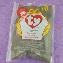 TY Teenie Beanie Baby Zip Cat Toy Animal 1998 McDonalds #10 - $7.92