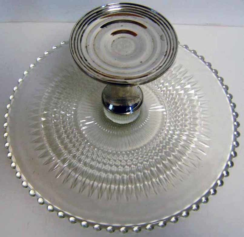 Imperial Candlewick Cake Plate Shrewsberry and similar items