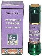 Nandita Patchouli Lavender  Roll On Oil   hippie  perfume fragrance oil diffuser - $9.99