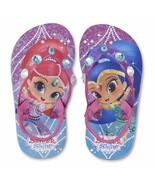 NEW Girls Toddler or Child Shimmer and Shine Flip Flops Size 5/6  - $10.99