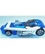 Hot Wheels 1996 Twang Thang Blue Guitar Car Rare 1st Ed - $5.50