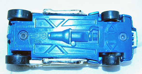 Hot Wheels 1996 Twang Thang Blue Guitar Car Rare 1st Ed