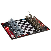 NEW Star Wars Classic Chess Game Board Edition Version Family Force Awak... - $44.50